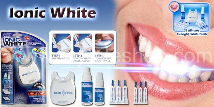 ionic white sbianca denti
