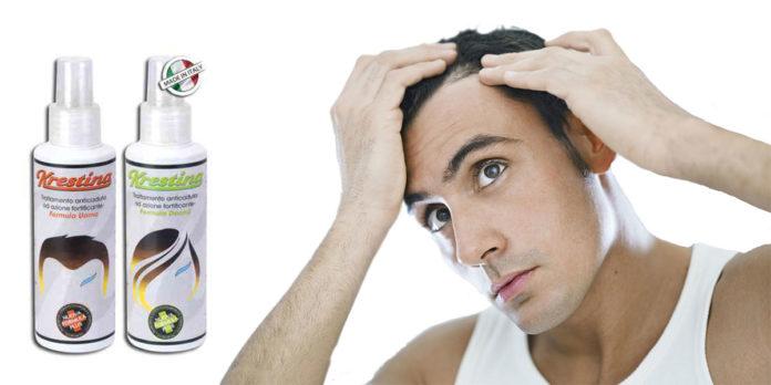 Krestina Spray Bioness: aiuta la Ricrescita di Capelli e Barba, funziona davvero? Recensioni, opinioni e dove comprarlo