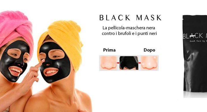 back mask maschera viso