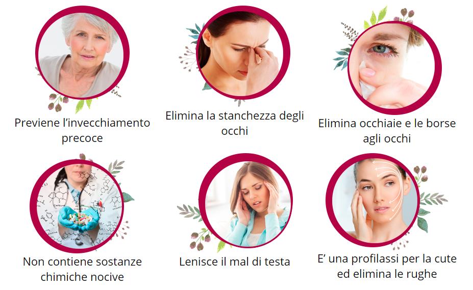 effetti di iris filler cream