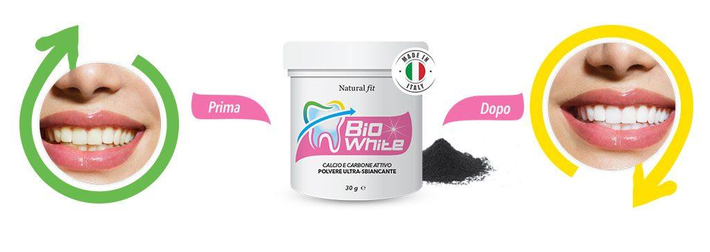 bio white prima dopo