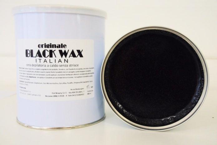 Cera a caldo Blak Wax