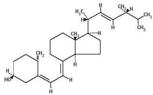 vitamina d struttura
