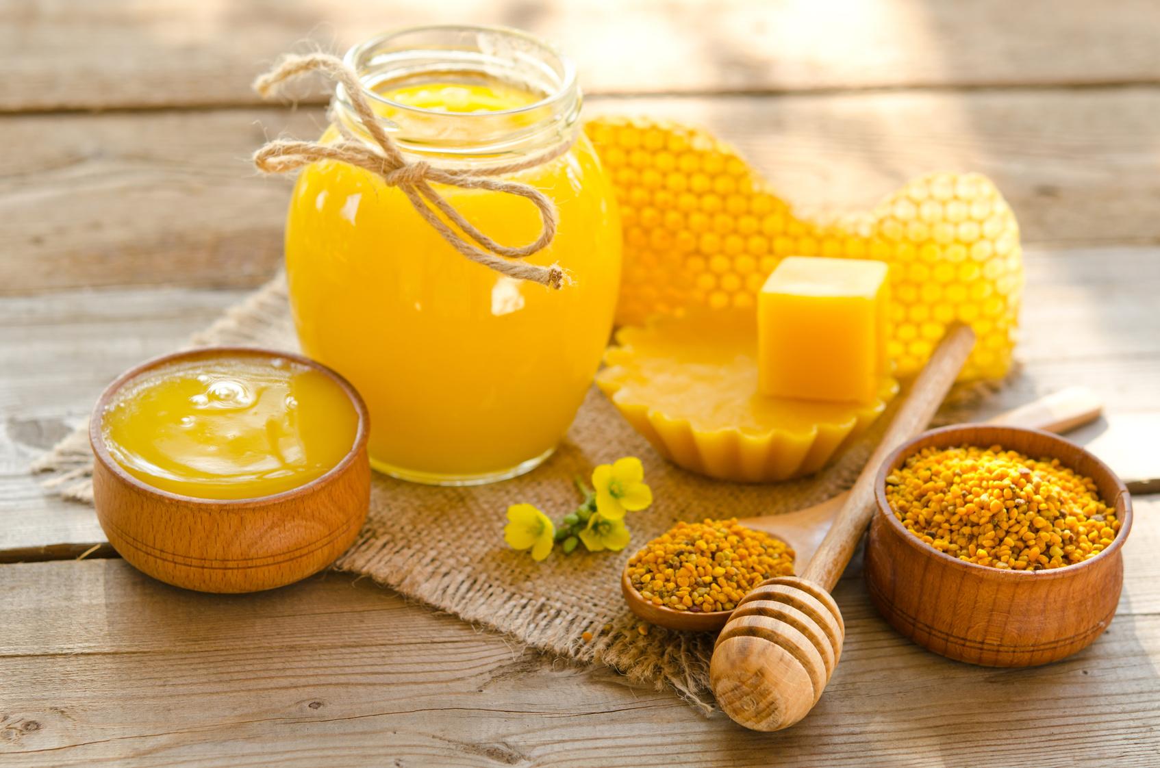 il polline delle api aiuta a perdere peso