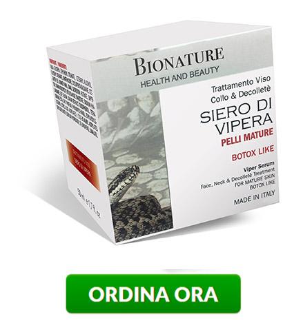 bionature siero di vipera crema ordina