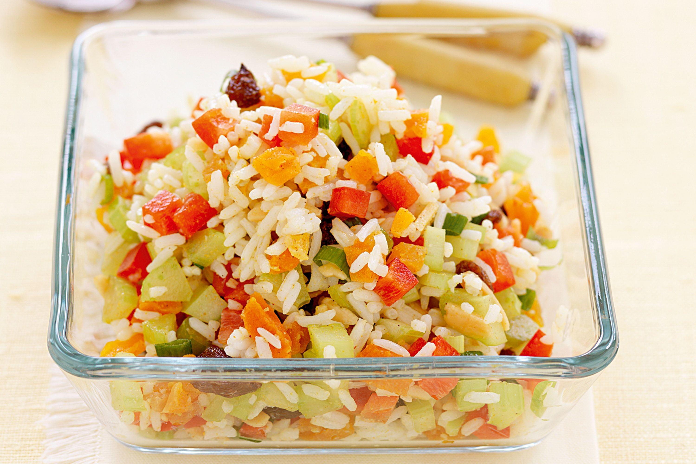 dieta vegetale con riso