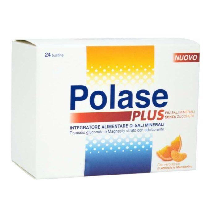 Polase Plus: integratore di Sali Minerali Senza Zucchero in Bustine