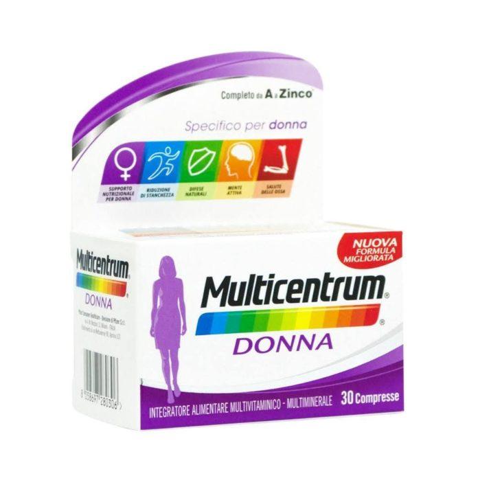 Multicentrum Donna: integratore in Compresse funziona davvero? Recensioni, opinioni e prezzo