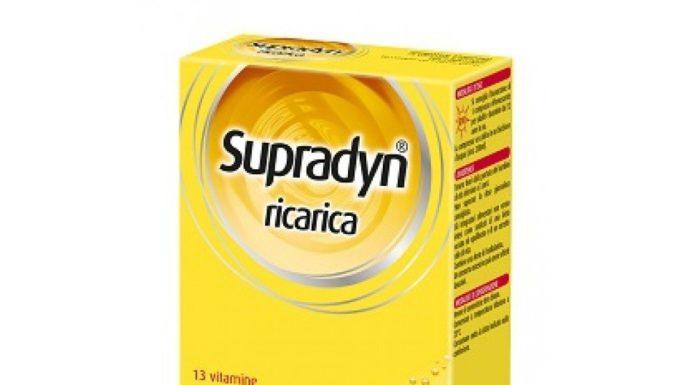 Supradyn Ricarica: integratore di Vitamine e Minerali con Coenzima Q10 in Compresse