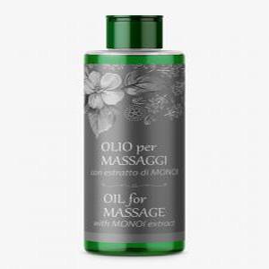 Olio per Massaggi con estratto di Monoi
