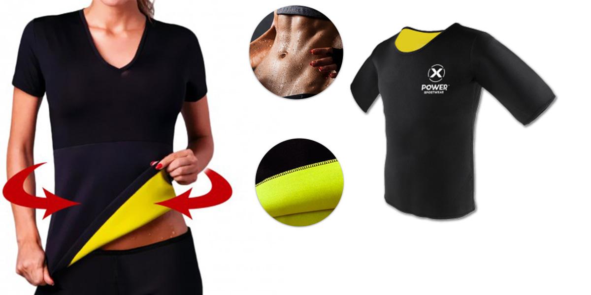 Xpower sportwear maglia termica snellente e dimagrante for Recensioni h2o power x