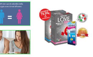 Fertilina LoveMe System: Integratore per aumentare Fertilità di Coppia, funziona davvero? Recensioni, Opinioni e dove comprarlo
