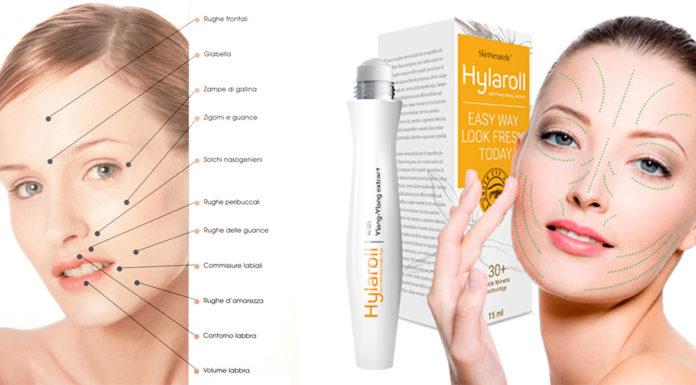Hylaroll: Massaggiatore Facciale a Rullo con Gel Antirughe, funziona davvero? Recensioni, Opinioni e dove comprarlo
