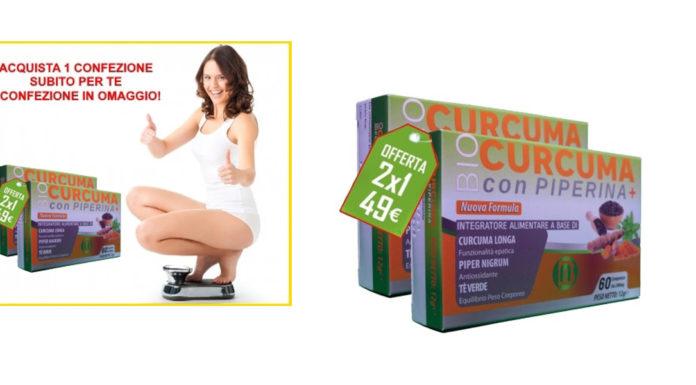 BioCurcuma con Piperina Plus BioChirale: Compresse Dimagranti, funzionano davvero? Recensioni, opinioni e dove comprarlo