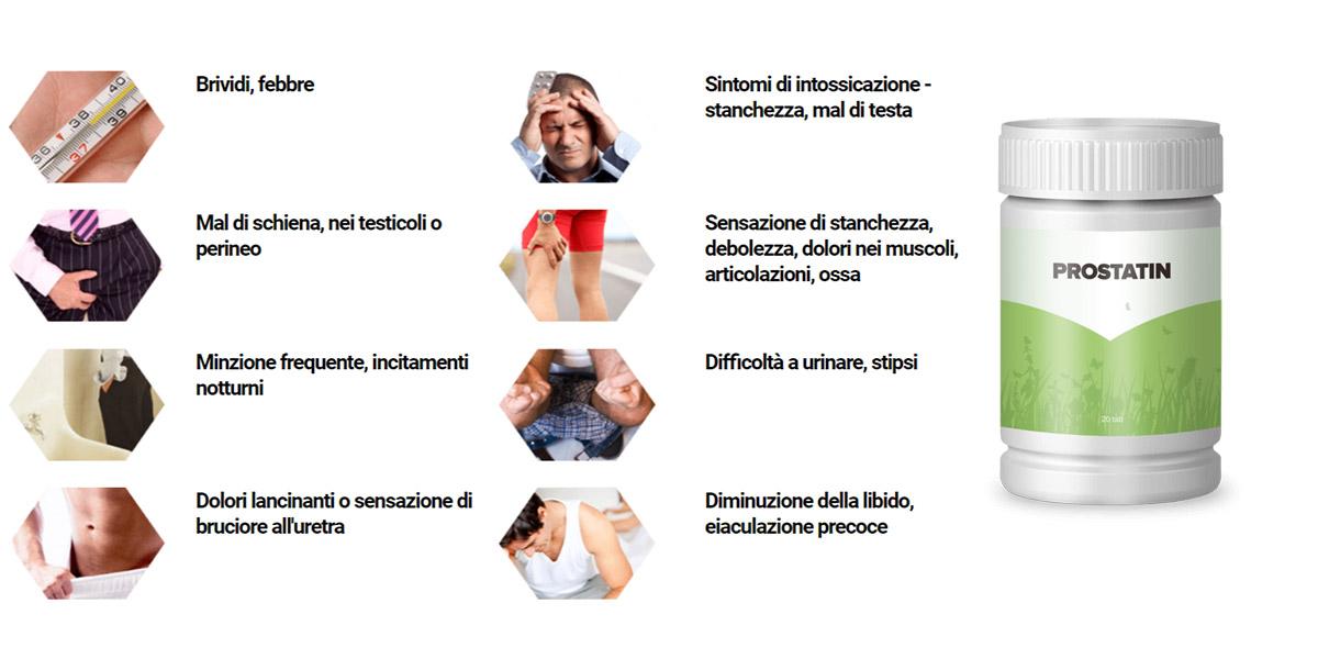 codice di diagnosi per prostatite