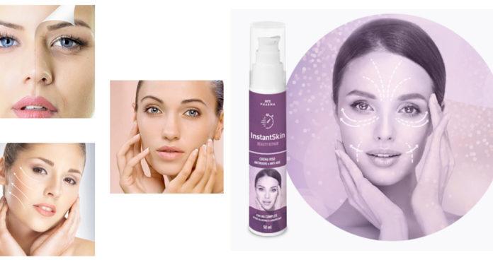 InstantSkin: Crema Viso Antirughe & Anti-Age Beauty Repair, funziona davvero? Recensioni, Opinioni e dove comprarlo