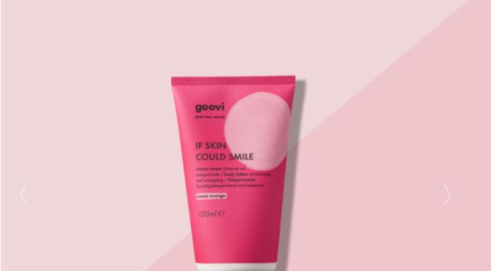Crema corpo Sweet Orange Goovi: idratante ed energizzante If skin could smile, funziona davvero? Recensioni, Opinioni e prezzo