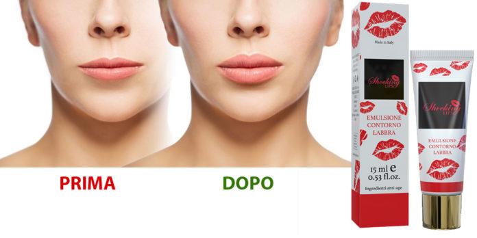 Shocking Lips: Emulsione contorno labbra volumizzante, funziona davvero? Recensioni, opinioni e dove comprarlo