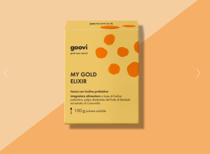Tisana con Inulina Prebiotica Goovi: polvere solubile my gold elixir, funziona davvero? Recensioni, Opinioni e prezzo
