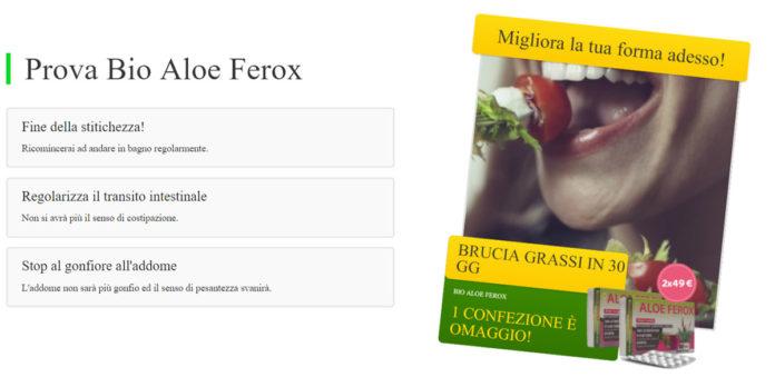 Bio Aloe Ferox Compresse: aiuta a regolare e perdere peso? Recensioni, opinioni e dove comprarlo