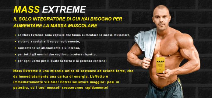 Mass Extreme: Integratore in Capsule per aumentare la Massa Muscolare, funziona davvero? Recensioni, Opinioni e dove comprarlo