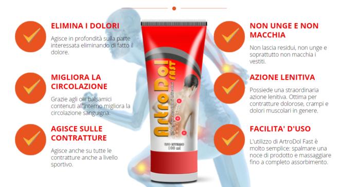 ArtroDol Gel Fast: crema lenitivo per dolori articolari, funziona davvero? Recensioni, opinioni e dove comprarlo