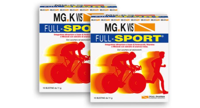 MG.K Vis Full-Sport: integratore alimentare energetico in polvere, funziona davvero? Recensioni, opinioni e prezzo