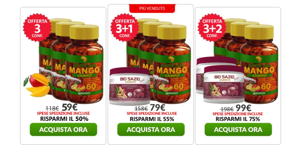 African Mango Slim Complex: integratore dimagrante in compresse, aiuta a dimagrire? Recensioni, opinioni e dove comprarlo