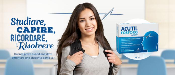 Acutil Fosforo Advance: integratore alimentare in Capsule, aiuta a migliorare la concentrazione? Recensioni, opinioni e prezzo
