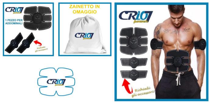 Crio7 Power: elettrostimolatore per addominali, funziona davvero? Recensioni, opinioni e dove comprarlo