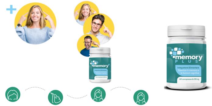 Memory+: integratore per la memoria e le funzioni cognitive, funziona davvero? Recensioni, opinioni e dove comprarlo