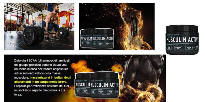 Musculin Active: integratore per aumentare la massa muscolare, funziona davvero? Recensioni, opinioni e dove comprarlo