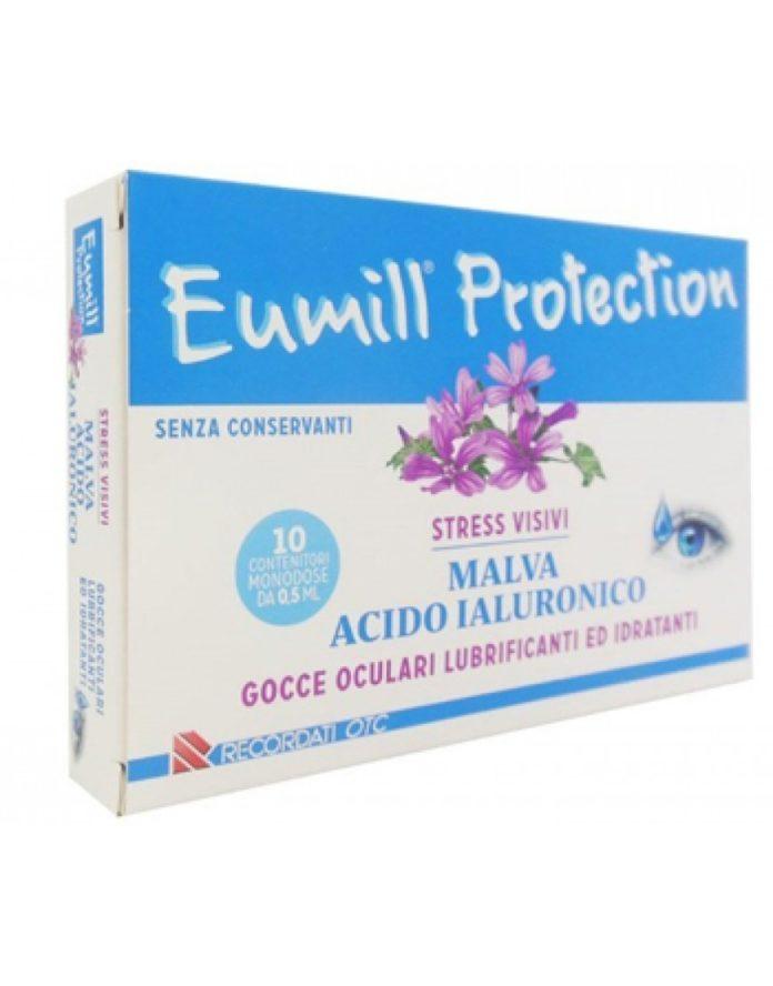 Eumill Protection Gocce: collirio per occhi lubrificante e idratante per stress visivi con Malva e Acido Ialuronico, funziona davvero? Recensioni, opinioni e prezzo