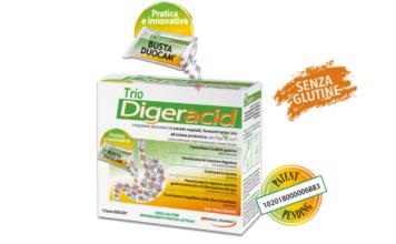 Trio Digeracid: integratore alimentare in bustine effervescenti per Nausea, Bruciore e acidità, funziona davvero? Recensioni, opinioni e prezzo