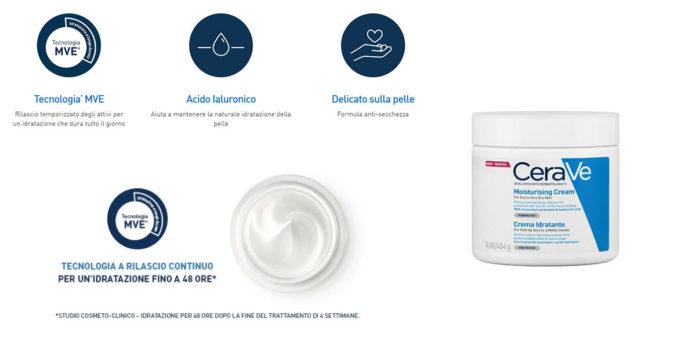 CeraVe: Crema Idratante corpo e viso per pelli secche, funziona davvero? Recensioni, opinioni e prezzo
