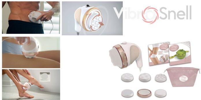 VibroSnell: massaggiatore portatile multiuso Anti Cellulite per cosce, glutei, schiena, ventre, braccia e gambe, funziona davvero? Recensioni, opinioni e dove comprarlo
