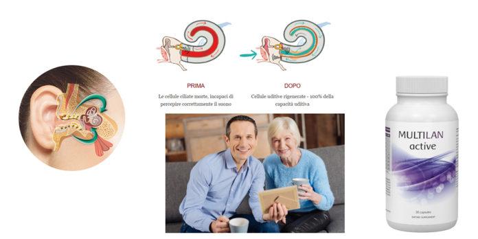 Multilan ACTIVE: integratore alimentare in capsule per migliorare l'udito, funziona davvero? Recensioni, opinioni e dove comprarlo