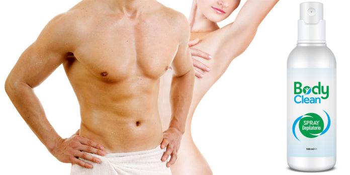 Body Clean: Spray Depilatorio indolore per uomo e donna, funziona davvero? Recensioni, opinioni e dove comprarlo