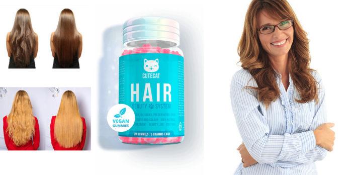 Cutecat Hair Beauty System: integratore in Caramelle gommose per la cura e la crescita dei capelli, funziona davvero? Recensioni, opinioni e dove comprarlo