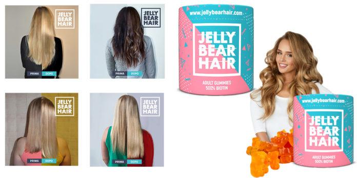 Jelly Bear Hair: integratore vitaminico in caramelle gelatinose per la cura dei Capelli Rovinati, funziona davvero? Recensioni, opinioni e dove comprarlo