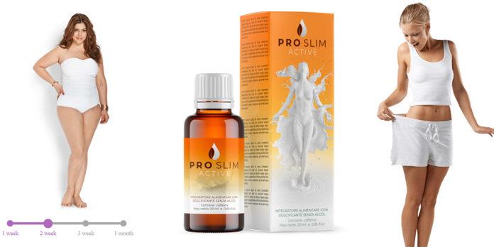 ProSlim Active Gocce Dimagranti: integratore alimentare naturale per la perdita di peso, funziona davvero? Recensioni, opinioni e dove comprarlo