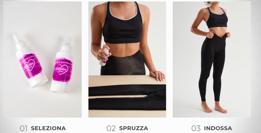 Silene Wear®: Leggings Snellente per pancia, fianchi e glutei con spray cosmetico incorporato, funzionano davvero? Recensioni, opinioni e dove comprarlo