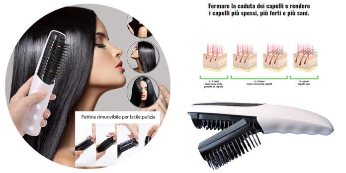 Laser Brush: spazzola Laser Capelli per Ricrescita e Anticaduta con funzione Massaggiante, funziona davvero? Recensioni, opinioni e dove comprarla