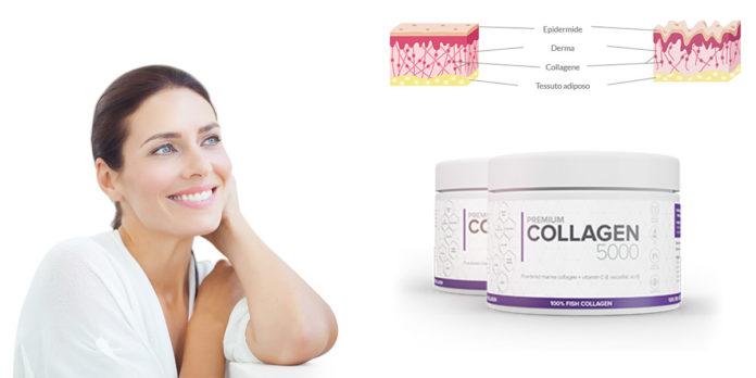Premium Collagen 5000: integratore al Collagene Marino e Vitamina C per ridurre le rughe, funziona davvero? Recensioni, opinioni e dove comprarlo