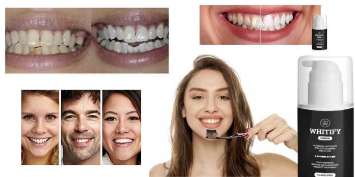Whitify Carbon: dentifricio sbiancante denti al Carbone Attivo, funziona davvero? Recensioni, opinioni e dove comprarlo