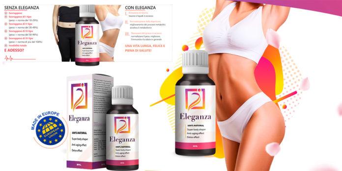 Eleganza Gocce Dimagranti: integratore alimentare naturale per la perdita di peso, funzionano davvero? Recensioni, opinioni e dove comprarlo