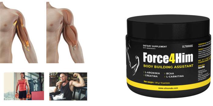 Force4Him: integratore in polver per Crescita Muscolare e Dimagrimento, funziona davvero? Recensioni, Opinioni e dove comprarlo