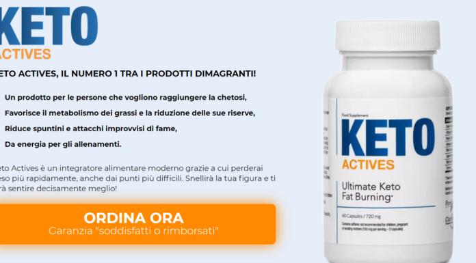 Keto Actives: integratore per Accelerare il Metabolismo, funziona davvero? Recensioni, Opinioni e dove comprarlo