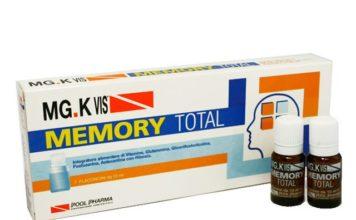 MG.K Vis Memory Total: integratore alimentare in flaconi per problemi di memoria, funziona davvero? Recensioni, opinioni e prezzo