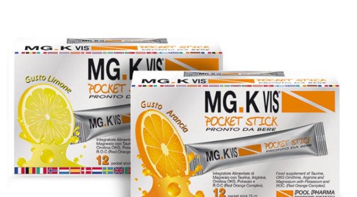 MG. K Vis Pocket Stick: integratore alimentare energizzante a base di Magnesio, Taurina e Potassio, funziona davvero? Recensioni, opinioni e prezzo